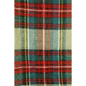 Scarf Nyc Renee's Women's Plaid Red Ivory Anthropologie Long